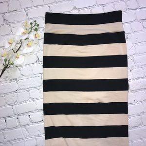 Free People - Column Striped Maxi Skirt